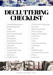 Organize Your LIfe: Declutter to Save Money