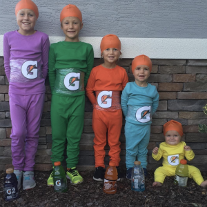 Sibling Costume ideas gatorade
