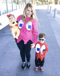 sibling costume ideas pacman