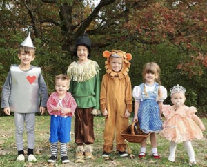 sibling costume ideas wizard of oz