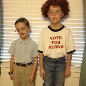 Sibling costumes kip and napoleon dynamite