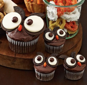 Owl Cupcakes - Cute Halloween Treats