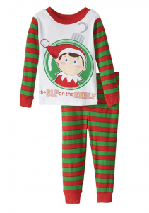 Elf on the Shelf Pajamas for Girls