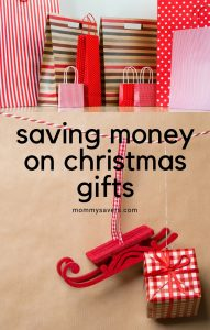 Ways to Save Money on Christmas Gifts - Mommysavers.com