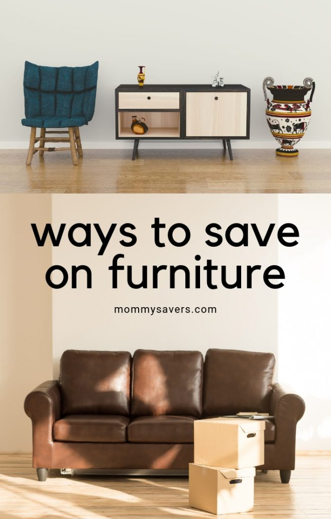 ways to save money on furniture