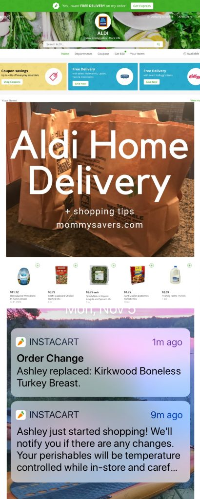 Aldi Home Grocery Delivery