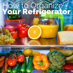 4-Step Refrigerator Organization