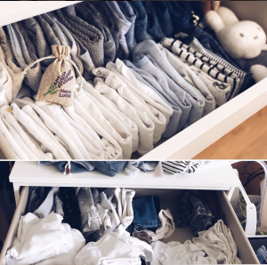 Baby Drawer Organization