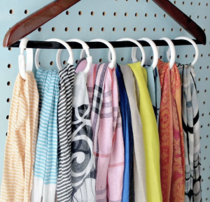 How to Organize Clothing and Accessories:  Closet Hacks