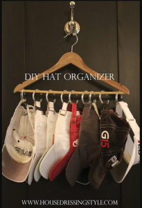 Closet Hacks for Hanging Hats