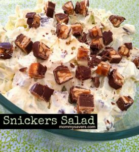 snickers salad recipe