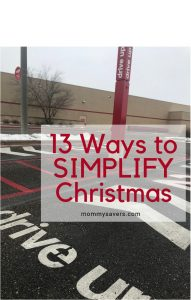 13 Ways to Simplify Christmas