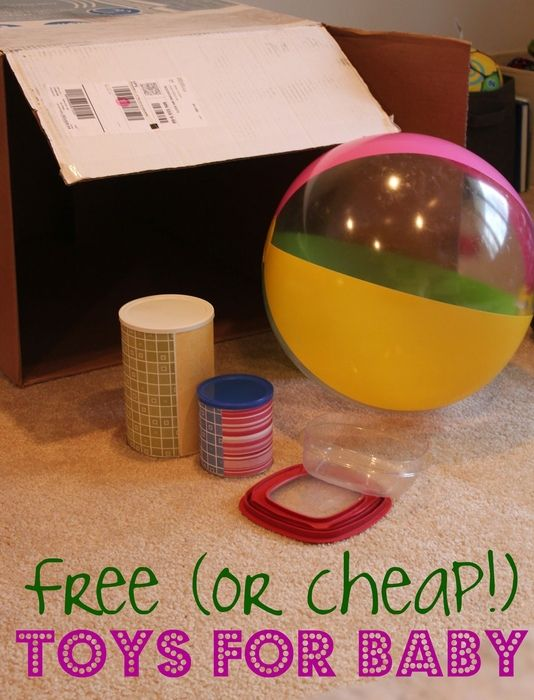 free or cheap toys for baby