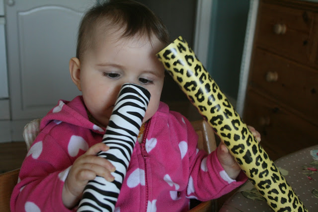 Homemade Baby Toys: Rain Stick
